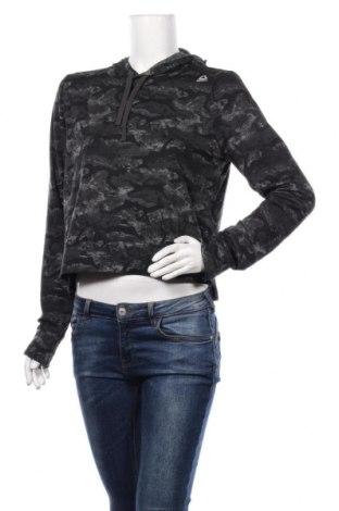 Bluză trening de femei Reebok, Mărime M, Culoare Negru, 88% poliester, 12% elastan, Preț 59,68 Lei