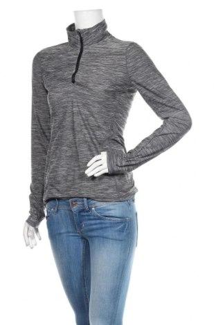 Bluză trening de femei Reebok, Mărime XS, Culoare Gri, 94% poliester, 6% elastan, Preț 72,95 Lei