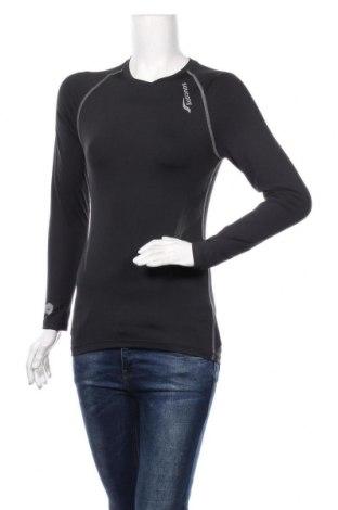 Дамска спортна блуза Saucony, Размер M, Цвят Черен, Цена 25,20лв.