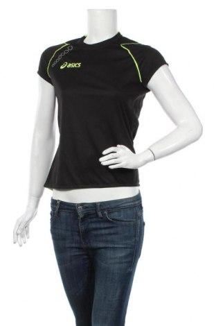 Дамска тениска ASICS, Размер M, Цвят Черен, Полиестер, Цена 39,20лв.