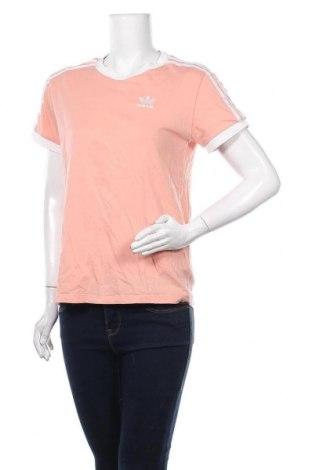 Дамска тениска Adidas, Размер XXS, Цвят Розов, 95% памук, 5% еластан, Цена 23,10лв.
