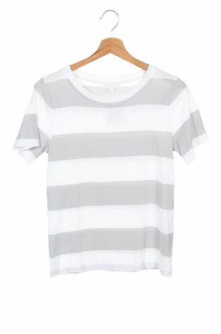 Дамска тениска COS, Размер XS, Цвят Сив, Памук, Цена 33,60лв.