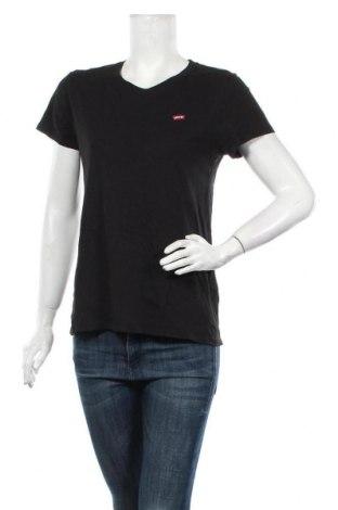 Tricou de femei Levi's, Mărime M, Culoare Negru, Bumbac, Preț 194,08 Lei