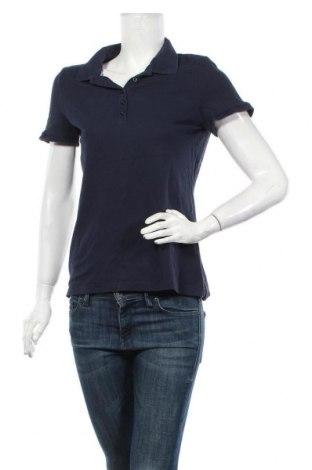Tricou de femei Montego, Mărime L, Culoare Albastru, 95% bumbac, 5% elastan, Preț 72,37 Lei