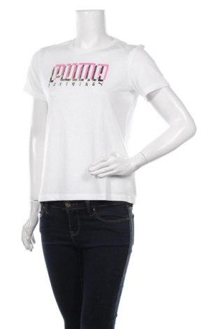 Tricou de femei PUMA, Mărime M, Culoare Alb, Poliester, Preț 194,08 Lei