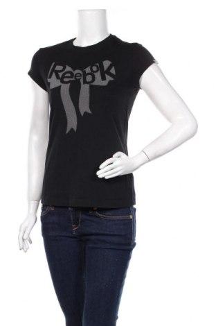 Tricou de femei Reebok, Mărime S, Culoare Negru, Bumbac, Preț 52,83 Lei