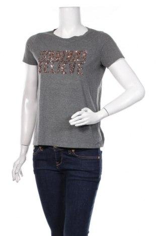 Tricou de femei Vero Moda, Mărime S, Culoare Gri, 70% poliester, 30% bumbac, Preț 72,37 Lei