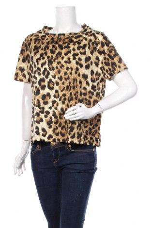 Tricou de femei Zara Trafaluc, Mărime M, Culoare Multicolor, Bumbac, Preț 82,24 Lei