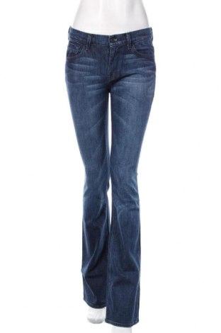 Damskie jeansy 7 For All Mankind, Rozmiar S, Kolor Niebieski, 98% bawełna, 2% elastyna, Cena 172,80zł