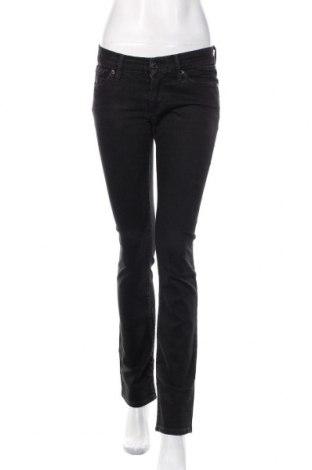 Damskie jeansy 7 For All Mankind, Rozmiar M, Kolor Czarny, 98% bawełna, 2% elastyna, Cena 172,80zł