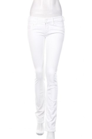 Damskie jeansy 7 For All Mankind, Rozmiar S, Kolor Biały, 98% bawełna, 2% elastyna, Cena 165,60zł