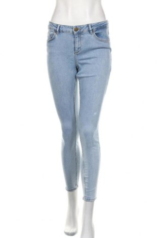 Damskie jeansy ASOS, Rozmiar S, Kolor Niebieski, 99% bawełna, 1% elastyna, Cena 81,60zł