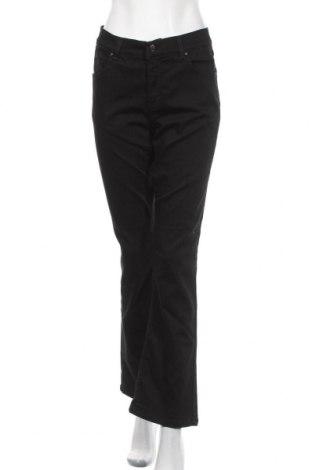 Дамски дънки Angels, Размер L, Цвят Черен, 72% памук, 26% полиестер, 2% еластан, Цена 27,30лв.