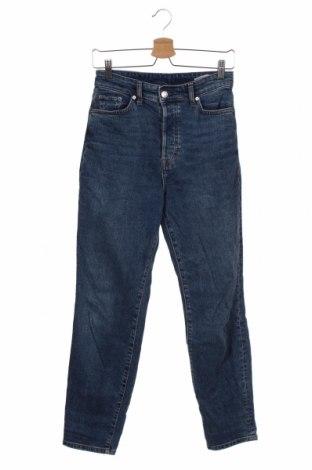 Γυναικείο Τζίν H&M, Μέγεθος XS, Χρώμα Μπλέ, 99% βαμβάκι, 1% ελαστάνη, Τιμή 12,99€