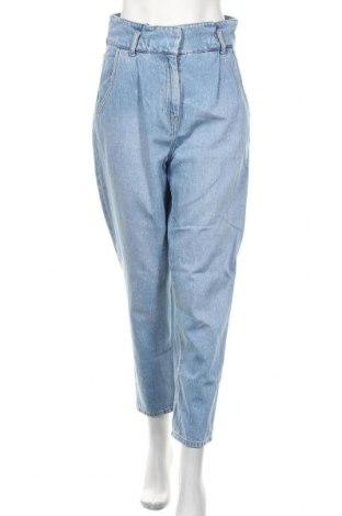 Damskie jeansy H&M, Rozmiar M, Kolor Niebieski, Bawełna, Cena 76,80zł