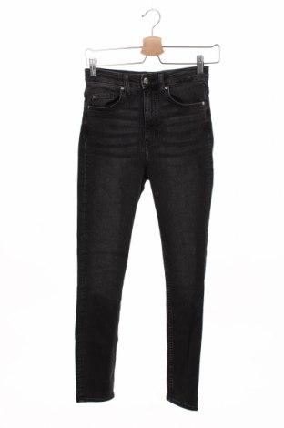 Blugi de femei H&M, Mărime XS, Culoare Gri, Preț 69,08 Lei