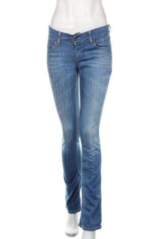 Blugi de femei Levi's, Mărime M, Culoare Albastru, 98% bumbac, 2% elastan, Preț 128,29 Lei