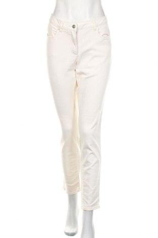 Blugi de femei Madeleine, Mărime L, Culoare Ecru, 98% bumbac, 2% elastan, Preț 135,69 Lei