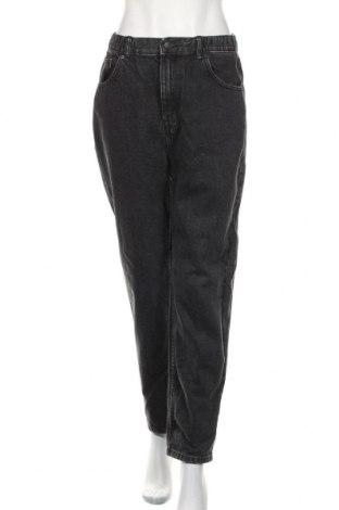 Damskie jeansy Pull&Bear, Rozmiar M, Kolor Szary, Bawełna, Cena 81,60zł