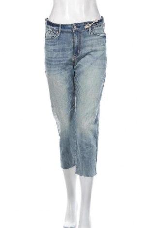 Дамски дънки Signature By Levi Strauss & Co, Размер M, Цвят Син, 67% памук, 32% полиестер, 1% еластан, Цена 61,95лв.