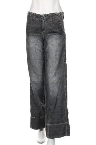 Blugi de femei Stefanel, Mărime S, Culoare Gri, Bumbac, Preț 152,96 Lei
