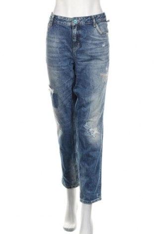 Damskie jeansy Tom Tailor, Rozmiar XL, Kolor Niebieski, Bawełna, Cena 115,20zł