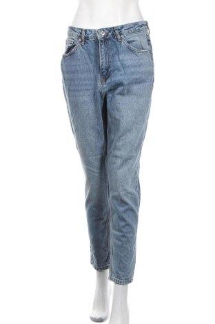Дамски дънки Topshop Moto, Размер M, Цвят Син, 100% памук, Цена 29,40лв.