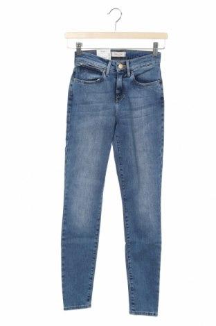 Dámské džíny  Wrangler, Velikost XXS, Barva Modrá, 93% bavlna, 5% polyester, 2% elastan, Cena  789,00Kč