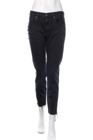 Damskie jeansy Zara, Rozmiar M, Kolor Czarny, Cena 112,80zł