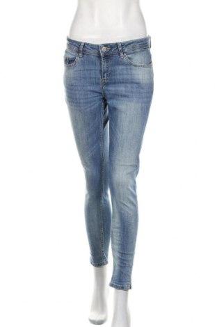 Damskie jeansy Zara, Rozmiar M, Kolor Niebieski, Cena 91,20zł