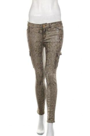 Damskie jeansy Zara, Rozmiar S, Kolor Brązowy, 98% bawełna, 2% elastyna, Cena 91,20zł
