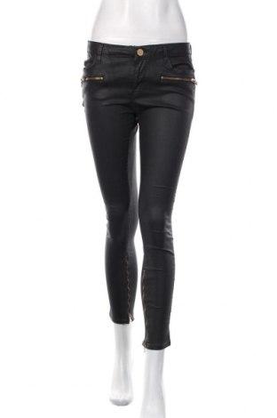 Damskie jeansy Zara, Rozmiar M, Kolor Czarny, 64% bawełna, 32% poliester, 4% elastyna, Cena 88,80zł