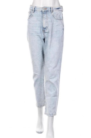 Дамски дънки Zara, Размер M, Цвят Син, Цена 31,50лв.