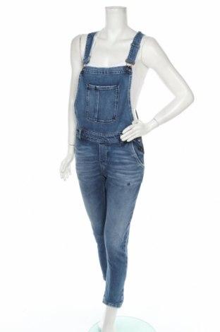 Damski kombinezon dżinsowy Comma,, Rozmiar S, Kolor Niebieski, 98% bawełna, 2% elastyna, Cena 358,00zł