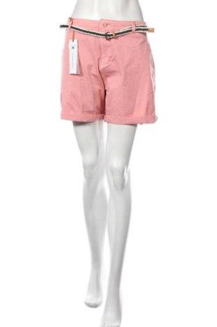 Дамски къс панталон Geographical Norway, Размер XL, Цвят Розов, 89% памук, 11% еластан, Цена 43,50лв.
