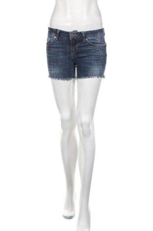 Pantaloni scurți de femei Liu Jo, Mărime S, Culoare Albastru, 98% bumbac, 2% elastan, Preț 111,02 Lei