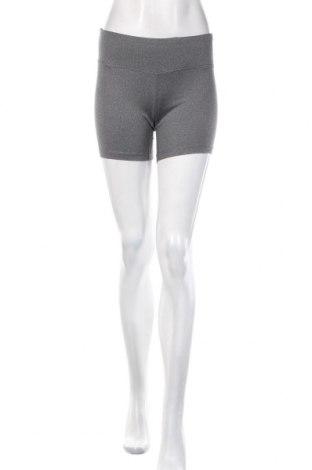 Pantaloni scurți de femei Reebok, Mărime S, Culoare Gri, 88% poliester, 12% elastan, Preț 52,83 Lei