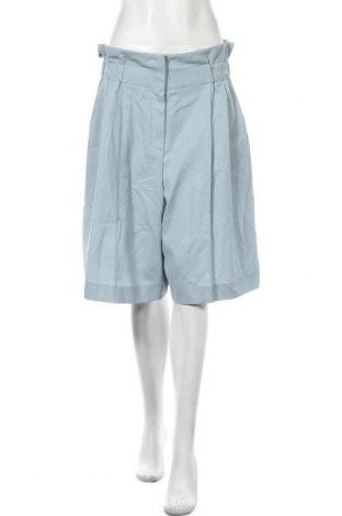 Дамски къс панталон Sonia Rykiel, Размер XL, Цвят Син, 60% вискоза, 40% вълна, Цена 366,75лв.