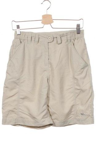 Дамски къс панталон Trespass, Размер XS, Цвят Бежов, Полиамид, Цена 34,50лв.
