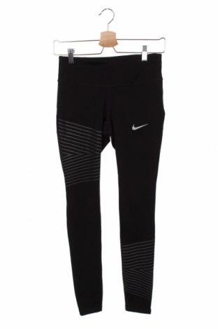 Dámské legíny  Nike, Velikost XS, Barva Černá, 82% polyester, 18% elastan, Cena  542,00Kč