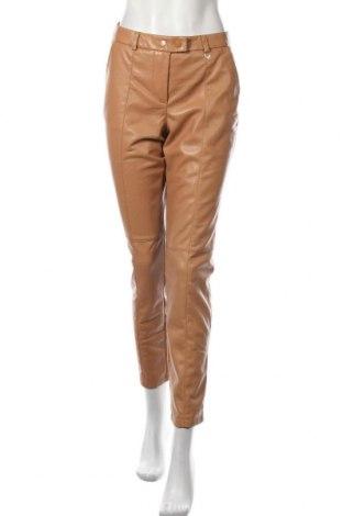 Pantaloni de piele pentru damă Comma,, Mărime S, Culoare Maro, Piele ecologică, Preț 205,58 Lei