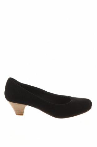 Дамски обувки Anna Field, Размер 37, Цвят Черен, Текстил, Цена 59,00лв.