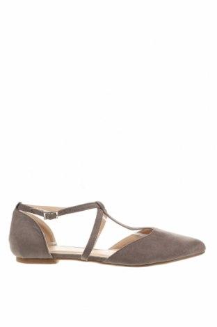 Дамски обувки Anna Field, Размер 39, Цвят Сив, Текстил, Цена 31,50лв.