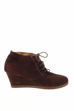 Γυναικεία παπούτσια Buffalo, Μέγεθος 41, Χρώμα Κόκκινο, Φυσικό σουέτ, Τιμή 41,29€