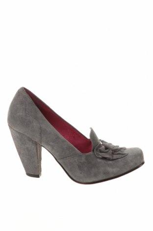 Γυναικεία παπούτσια Hush Puppies, Μέγεθος 38, Χρώμα Γκρί, Φυσικό σουέτ, Τιμή 32,01€