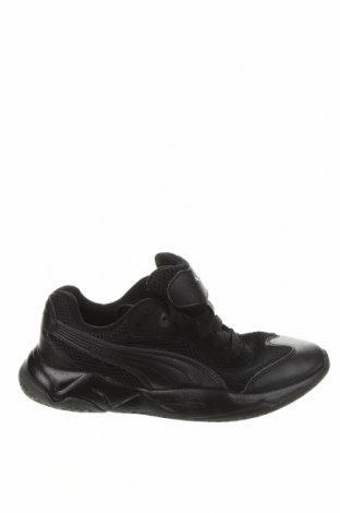 Дамски обувки PUMA, Размер 37, Цвят Черен, Еко кожа, текстил, Цена 42,00лв.