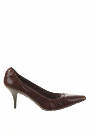 Дамски обувки Prada, Размер 38, Цвят Кафяв, Естествена кожа, Цена 528,00лв.
