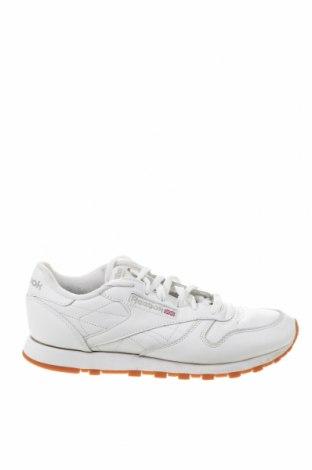 Дамски обувки Reebok, Размер 39, Цвят Бял, Естествена кожа, Цена 69,00лв.