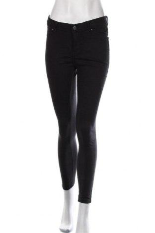 Дамски панталон Amisu, Размер S, Цвят Черен, 64% памук, 33% полиестер, 3% еластан, Цена 29,40лв.