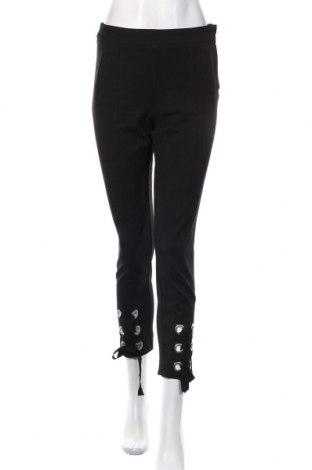 Γυναικείο παντελόνι H&M, Μέγεθος S, Χρώμα Μαύρο, 68% πολυεστέρας, 28% βισκόζη, 4% ελαστάνη, Τιμή 13,46€